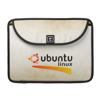 Ubuntu Linux Open Source Sleeve For MacBook Pro
