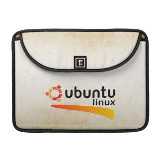 Ubuntu Linux Open Source Sleeves For MacBook Pro