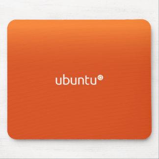 Ubuntu Linux Orange Mousepads