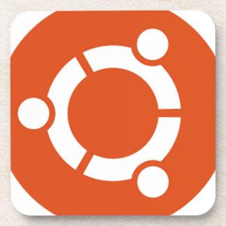 Ubuntu Linux Tshirt Kode ub05 Drink Coaster