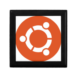 Ubuntu Linux Tshirt Kode ub05 Keepsake Box