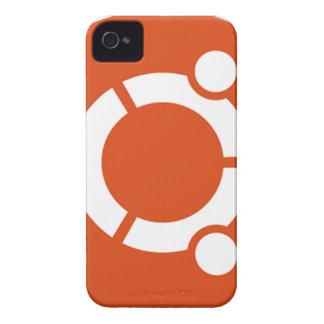 Ubuntu Linux Tshirt Kode ub05 iPhone 4 Case