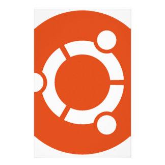 Ubuntu Linux Tshirt Kode ub05 Stationery