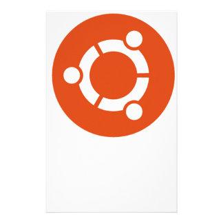 Ubuntu Linux Tshirt Stationery