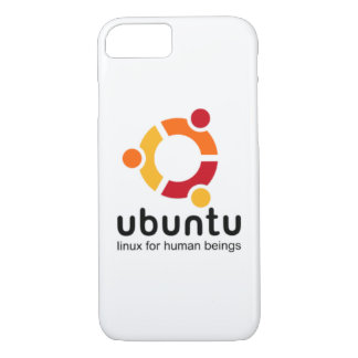 ubuntu linux will be human beings iPhone 8/7 case