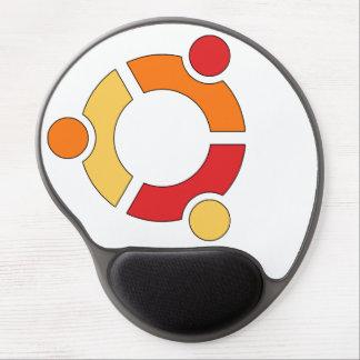 Ubuntu logo gel mousepad