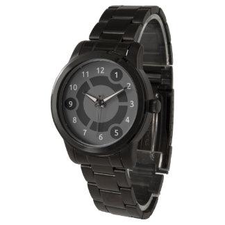 Ubuntu oversized Black Bracelet Watch