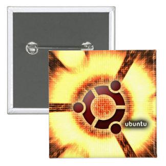 Ubuntu Pinback Button