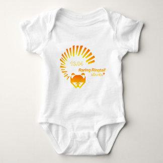 Ubuntu-Tshirt- 13.04-orange.png Baby Bodysuit