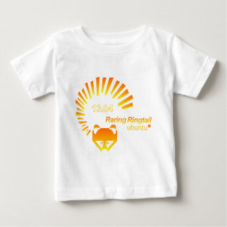 Ubuntu-Tshirt- 13.04-orange.png Baby T-Shirt
