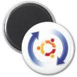 ubuntu-update imã de geladeira