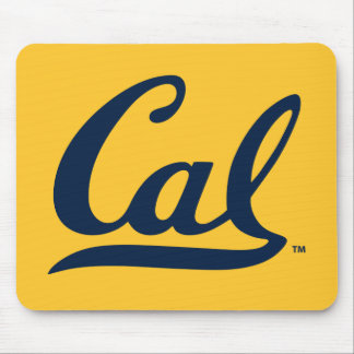 UC Berkeley Cal Logo Blue Mouse Pad