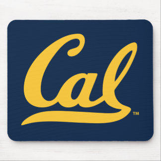 UC Berkeley Cal Logo Gold Mouse Pad