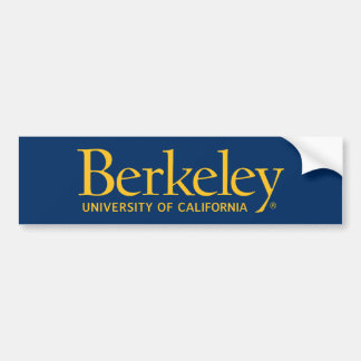 UC Berkeley Logo Bumper Sticker