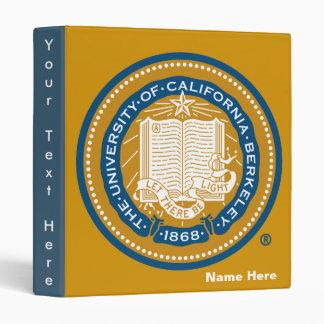 UC Berkeley School Seal Binder