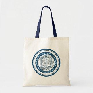 UC Berkeley School Seal - Blue Canvas Bag