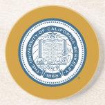 UC Berkeley School Seal - Blue Coaster