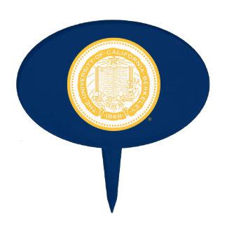 UC Berkeley School Seal Cake Topper