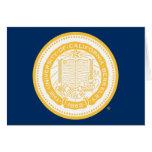 UC Berkeley School Seal - Gold Stationery Note Card