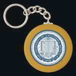 "UC Berkeley School Seal Keychain<br><div class=""desc"">Check out these official Bear Territory products! You can personalize your own UC Berkeley merchandise on Zazzle.com to show off your University of California pride. This Cal gear is perfect for students,  friends,  family,  staff,  and alumni.  Go Golden Bears!</div>"