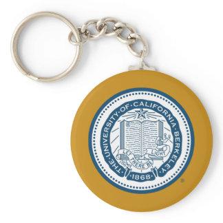 UC Berkeley School Seal Keychain