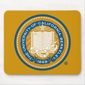 UC Berkeley School Seal Mouse Pad
