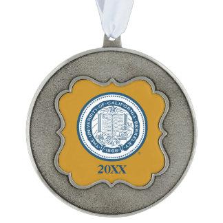 UC Berkeley School Seal Pewter Ornament