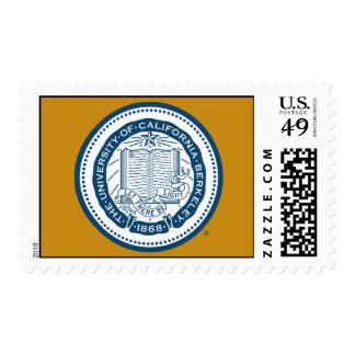 UC Berkeley School Seal Postage Stamp