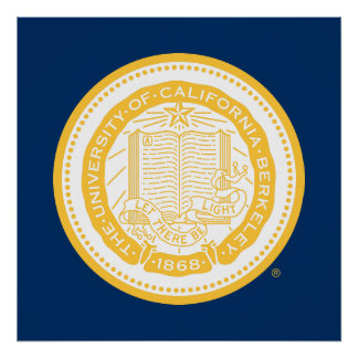 UC Berkeley School Seal Poster