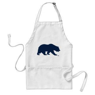 UC Berkley Bear logo Blue Adult Apron