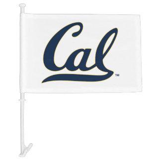 UC Berkley logo Blue Car Flag