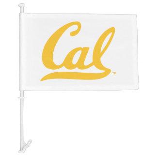 UC Berkley logo Golden Car Flag