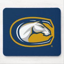 UC Davis Horse Head Logo Mouse Pad