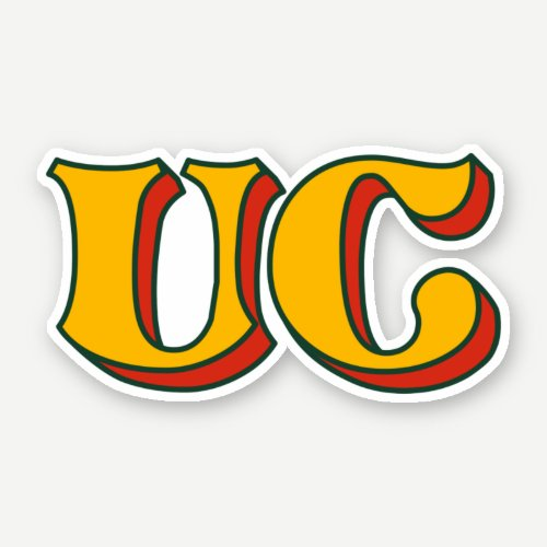 UC Icon Sticker