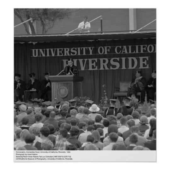 UC Riverside Convocation, 1966 Poster
