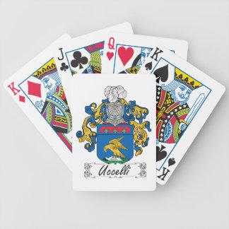 Uccelli Family Crest Card Decks