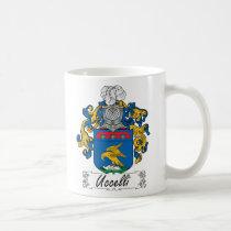 Uccelli Family Crest Mug