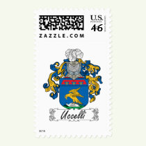 Uccelli Family Crest Stamps
