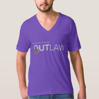 UChicago OutLaw - White, Full Color T-Shirt