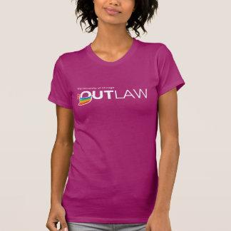 UChicago OutLaw - White, Full Color T-shirt