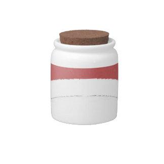 Uchiha label candy jar