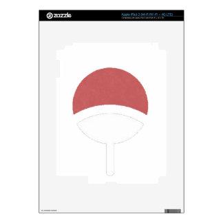 Uchiha label iPad 3 skin