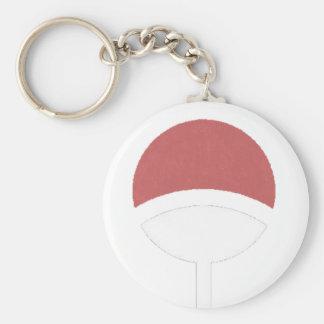 Uchiha label keychain