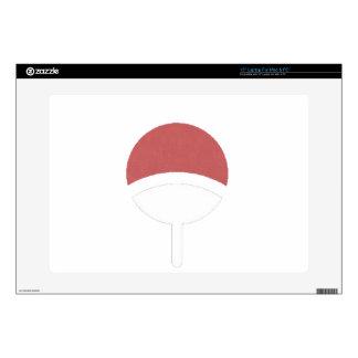 Uchiha label laptop skins