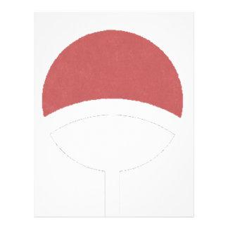 Uchiha label letterhead