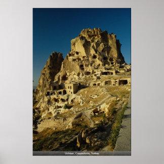Uchisar, Cappadocia, Turkey Poster