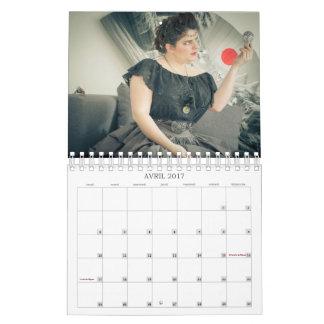 Uchronic seductresseses - calendar 2017