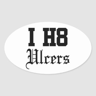 uclers oval sticker