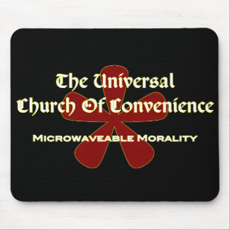 UCOC Microwave - Dark Mouse Pad