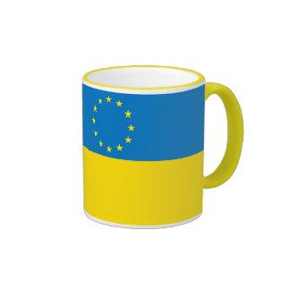Ucrania Europa Taza De Café